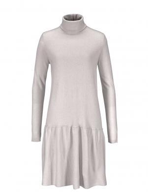 Gaiši pelēka sieviešu kleita ar vilnu STEFANEL