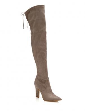 GUESS smilšu krāsas gari sieviešu augstpapēžu apavi