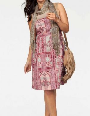 APART krāsaina sieviešu kleita