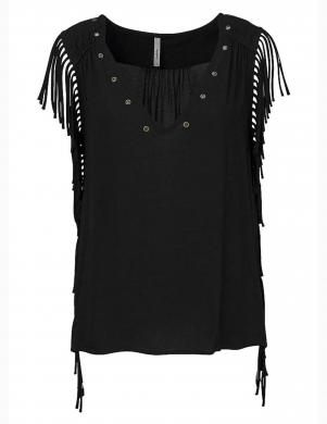 Melns krekls ar bārkstīm PEPE JEANS