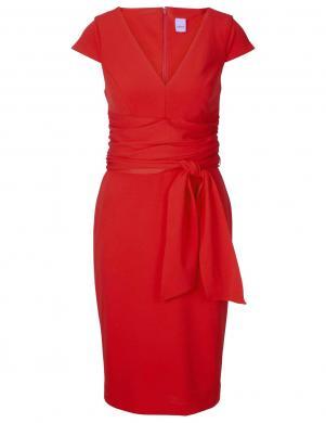 Sarkana trikotāžas kleita HEINE