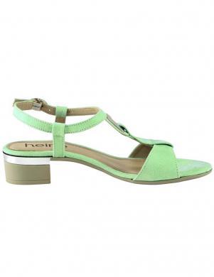 Piparmētru krāsas sandales Heine