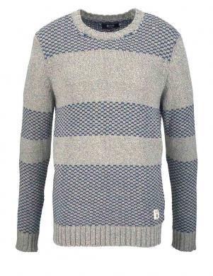 Pelēks vīriešu džemperis MUSTANG