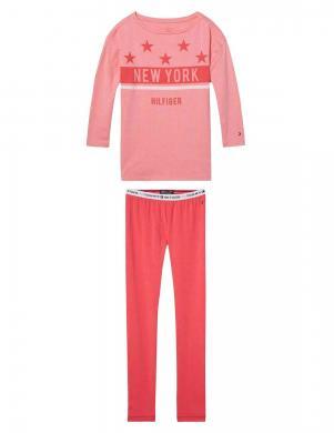 TOMMY HILFIGER sarkana bērnu pižama