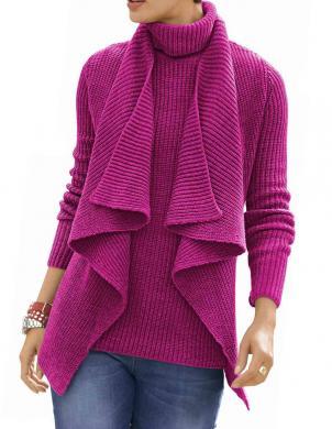 ALBA MODA rozā krāsas skaists sieviešu kardigans