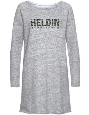 Pelēka džempera tipa kleita Herrlicher