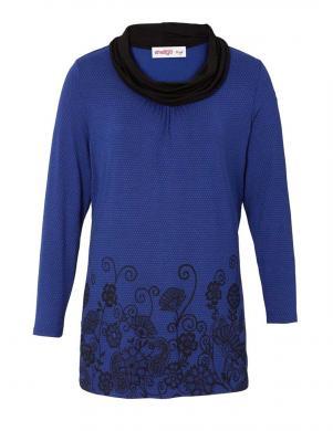 JOE BROWNS zilas melnas krāsas sieviešu džemperis