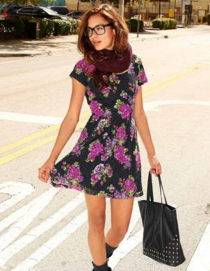 AJC krāsaina sieviešu kleita