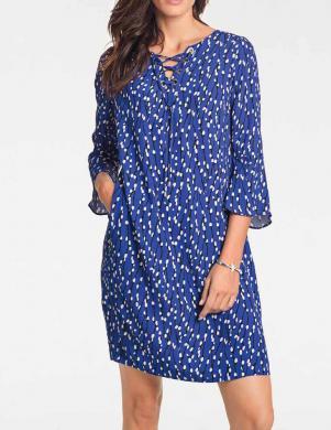 Tumši zila sieviešu kleita PATRIZIA DINI