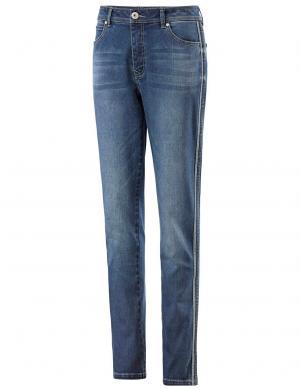 Stilīgi zili sieviešu džinsi garums 30 CREATION L