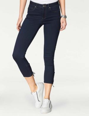 TOM TAILOR tumši zili sieviešu džinsi