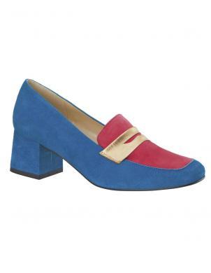 Sieviešu zili/rozā eleganti apavi HEINE