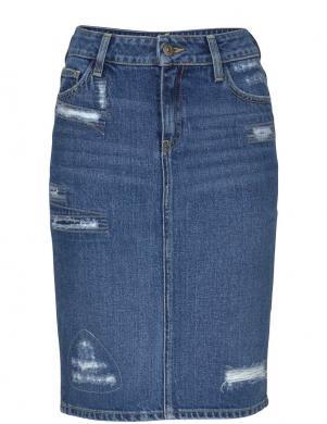 Zili džinsa svārki CROSS