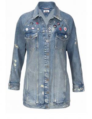 Stilīga džinsa sieviešu jaka TOMMY HILFIGER DENIM