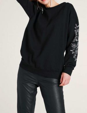 Melns sieviešu džemperis RICK CARDONA