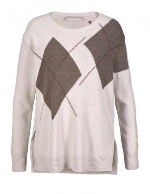 Krēmīgas krāsas vilnas sieviešu džemperis STEFANEL