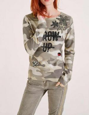 Krāsains džemperis ar aplikāciju HEINE