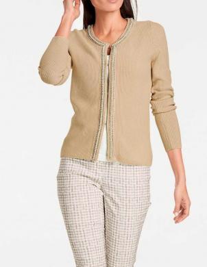 Smilšu krāsas sieviešu jaka ASHLEY BROOKE