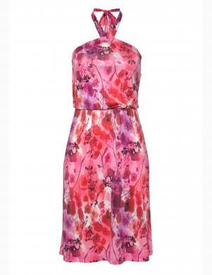 Rozā kleita ar puķēm MELROSE