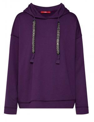S. OLIVER violeta sieviešu blūze