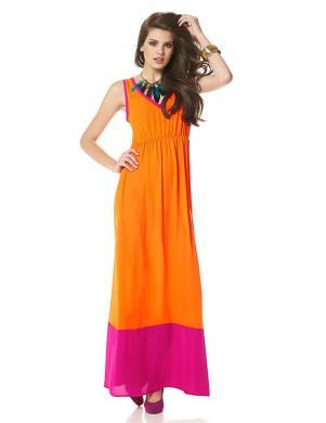 BUFFALO gara, oranža kleita
