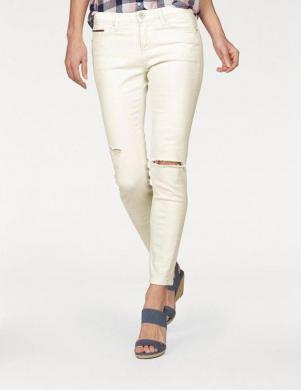 TOMMY HILFIGER DENIM krēmīgas krāsas sieviešu džinsi