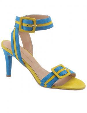 Sieviešu krāsainas zamšādas augstpapēžu sandales GUIDO MARIA KRETSCHMER