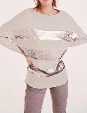 Smilšu krāsas sieviešu džemperis HEINE