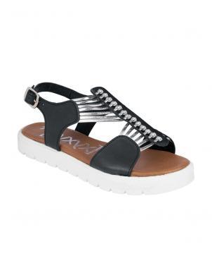 Melnas sieviešu sandales XYXYX
