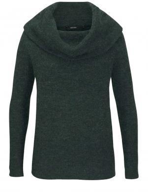 Zaļš vilnas sieviešu džemperis VERO MODA
