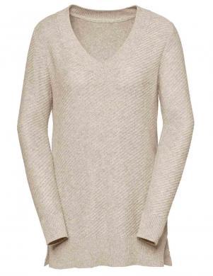 Smilšu krāsas džemperis ar kašmiru CREATION L PREMIUM