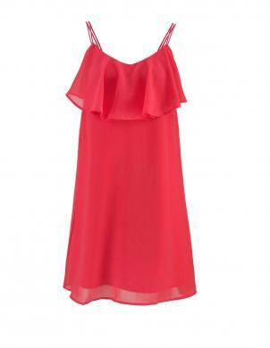 Sarkana stilīga kleita VERO MODA