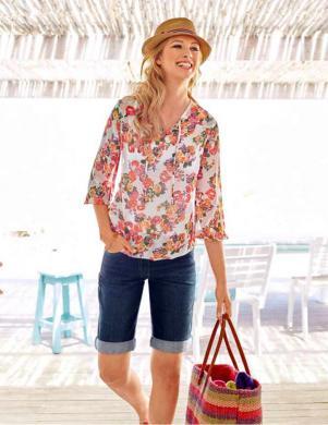CHEER krāsaina stilīga sieviešu tunika