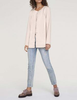 Gaiši rozā eleganta jaka HEINE