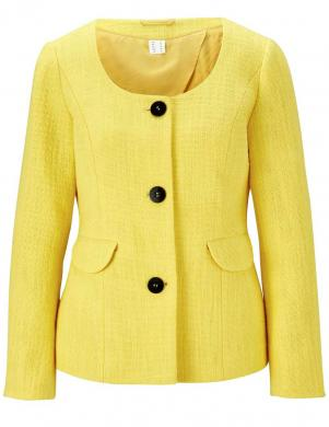 Eleganta dzeltena jaka HEINE