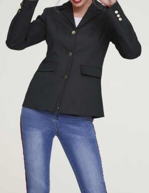 Melna jaka ar pogām HEINE