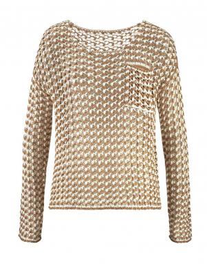 CHEER smilšu krāsas sieviešu džemperis