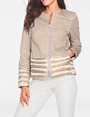 Smilšu krāsas dūnu sieviešu jaka ASHLEY BROOKE