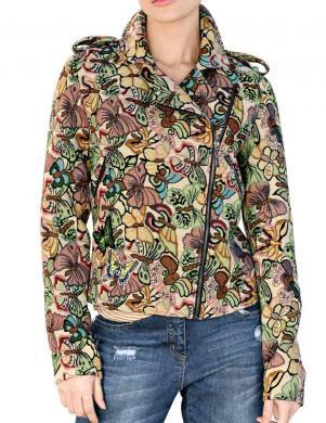 Krāsaina sieviešu jaka ALBA MODA