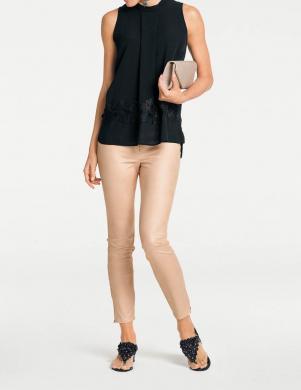 Smilšu krāsas bikses-legingi ASHLEY BROOKE