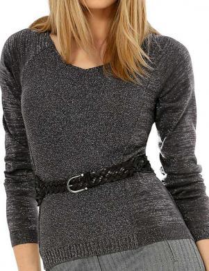 Pelēks sieviešu džemperis ALBA MODA