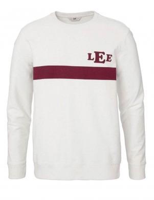 Balts vīriešu džemperis LEE