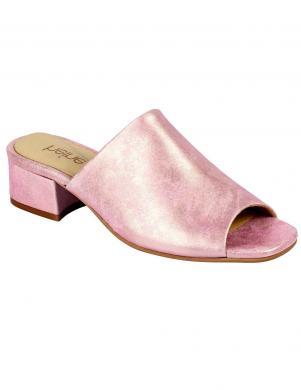 Elegantas rozā sieviešu ādas augstpapēžu čības HEINE