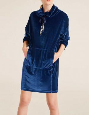 Zils violets garš džemperis HEINE