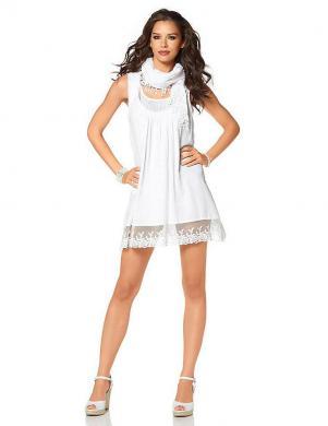LAURA SCOTT baltas krāsas kleita