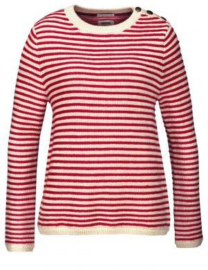 Svītrains vilnas sieviešu džemperis TOMMY HILFIGER