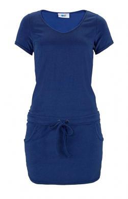 Zila sieviešu kleita BEACH TIME