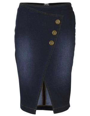 Tumši zili džinsa svārki HEINE