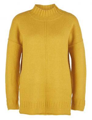 Spilgti dzeltens džemperis ar augstu apkakli S. OLIVER