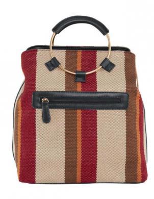 Svītraina soma ar bārkstīm HEINE